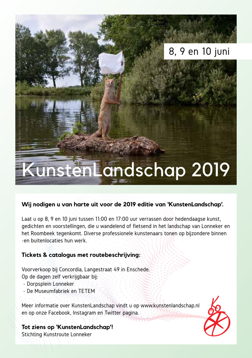 flyer KunstenLandschap