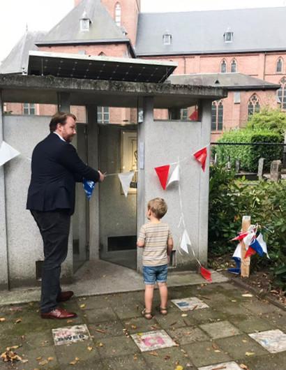 Opening Permanente Kunstroute door Jeroen Diepemaat
